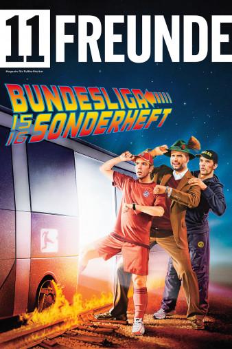 Fußball Wandbild Covermotiv: 11FREUNDE - Bundesliga-Sonderheft 2015/16 Zurück in die Zukunft