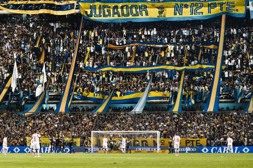 Boca Juniors Fankurve - 11FREUNDE BILDERWELT