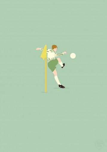 Supermario - Mario Basler Werder Poster - 11FREUNDE SHOP