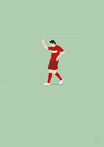 El Torero - Mario Gomez Poster - 11FREUNDE SHOP