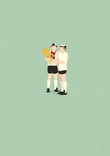 Frankfurter Pokalhelden - Eintracht Poster - 11FREUNDE SHOP