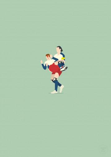 Tarzan - Daniel van Buyten HSV Poster - 11FREUNDE SHOP