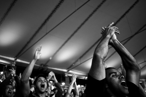 Fans im Maracanã
