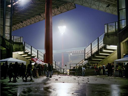 Westfalenstadion vom BVB nach einem Spiel - 11FREUNDE BILDERWELT