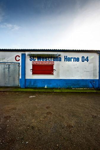 Bei Westfalia Herne - Fußball Foto Wandbild - 11FREUNDE SHOP