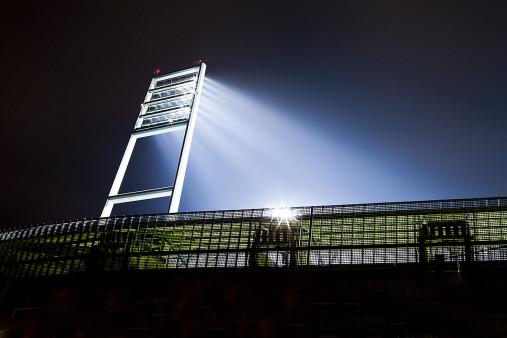 Flutlichtmast Weserstadion