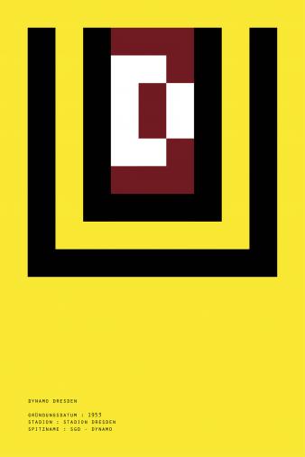 Pixel Lookalike: Dresden - Poster bestellen - 11FREUNDE SHOP