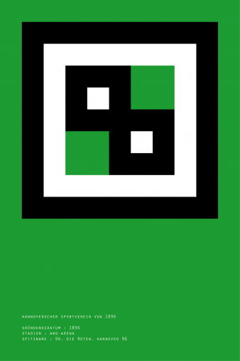 Pixel Lookalike: Hannover - Poster bestellen - 11FREUNDE SHOP