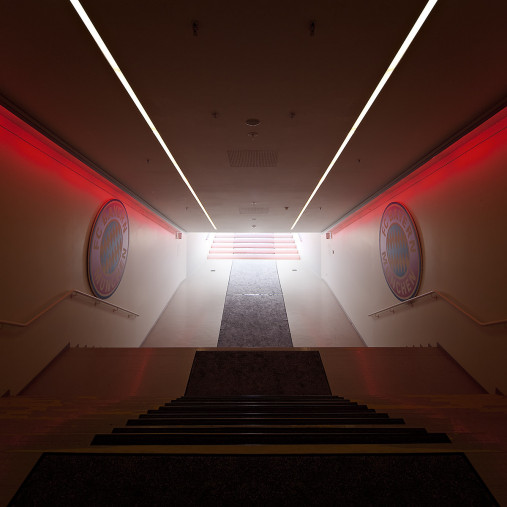 Spielertunnel Allianz Arena