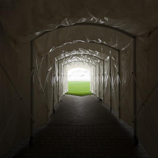 Spielertunnel Millerntor-Stadion - 11FREUNDE BILDERWELT