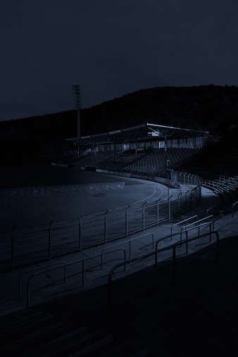 Stadien bei Nacht - Erzgebirgsstadion (2)
