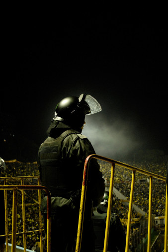 Police At The Stadium