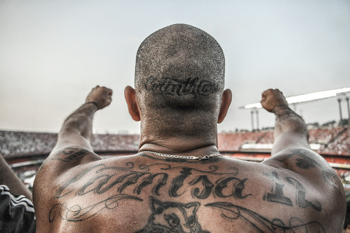 Tattooed Corinthians Fan