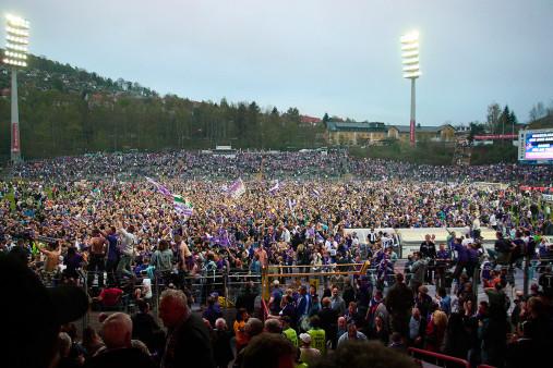 Aufstiegsfeier Aue - FC Erzgebirge Aue - 11FREUNDE BILDERWELT