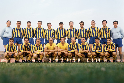 Mannschaftsfoto Eintracht Braunschweig 1963/64 - 11FREUNDE BILDERWELT