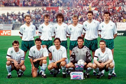 Bremen im Europapokalfinale