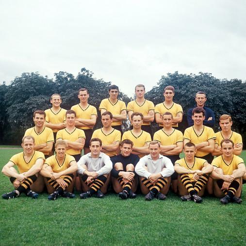 BVB Mannschaftsfoto 1964/65 - 11FREUNDE BILDERWELT