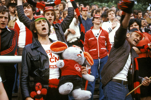 Nürnberg Fans 1978 - 11FREUNDE BILDERWELT