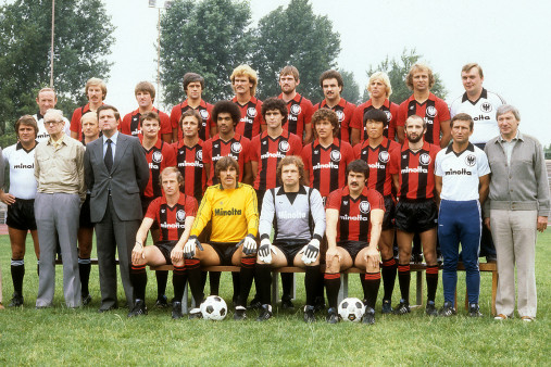Eintracht Frankfurt Mannschaftsfoto 1979/80 - 11FREUNDE BILDERWELT