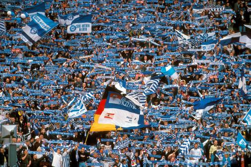 Hertha Fans 1997 - Hertha BSC - 11FREUNDE BILDERWELT