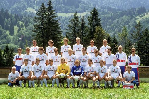 1. FC Köln Mannschaftsfoto 1988/89 - 11FREUNDE BILDERWELT