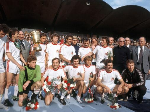 Kölner Pokaljubel