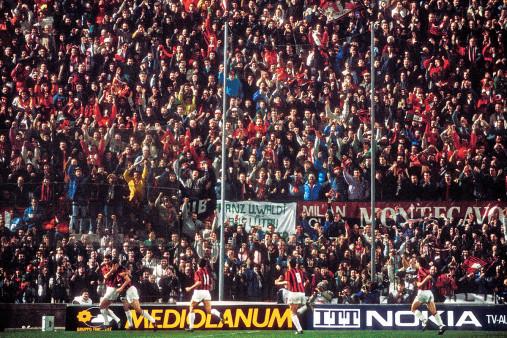 Mailänder Torjubel - 11FREUNDE SHOP - Fußball Foto Wandbild