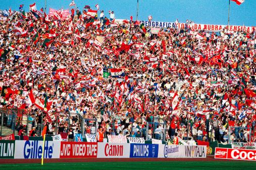 PSV vs. Benfica im Neckarstadion