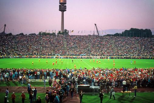 Vor dem Platzsturm - FC Bayern München - 11FREUNDE BILDERWELT