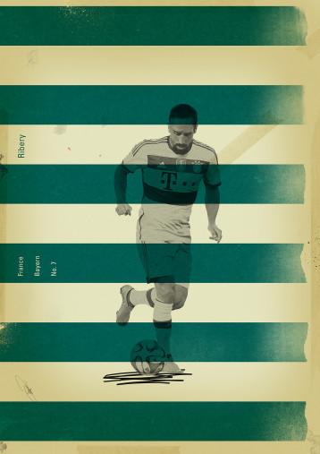 Ribery - Poster bestellen - 11FREUNDE SHOP