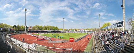Köln (Fortuna) - Stadion Wandbild Südstadion - 11FREUNDE SHOP