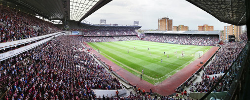 West Ham (2016) - Stadion Wandbild Boleyn Ground Uptown Park - 11FREUNDE SHOP