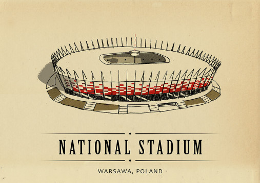 World Of Stadiums: National Stadium - Poster bestellen - 11FREUNDE SHOP