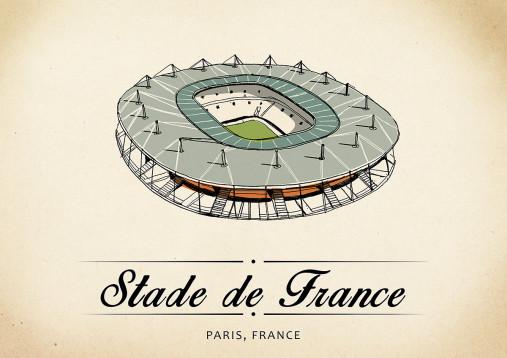 World Of Stadiums: Stade de France