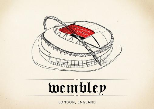 World Of Stadiums: Wembley