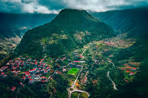 Im Hochland von Madeira