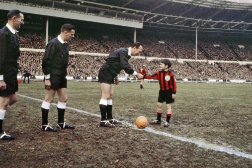 Shakehands mit dem Referee