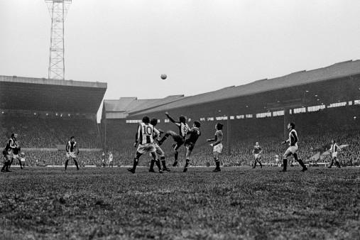 Spielszene aus Old Trafford