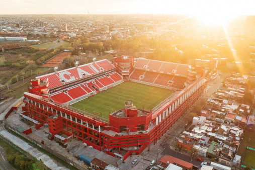 Vogelperspektive Estadio Libertadores de América