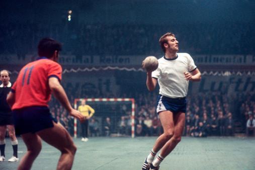 Handball Europapokal 1971 - Wandbild VfL Gummersbach vs. Steaua Bukarest