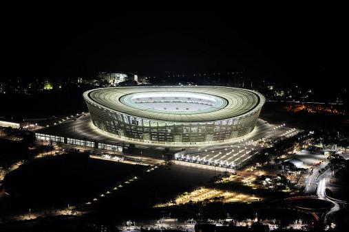 Cape Town Stadium bei Nacht - 11FREUNDE BILDERWELT