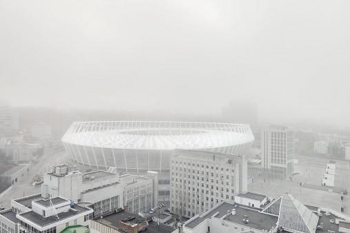 Smog in Kiew