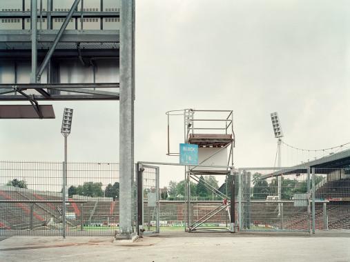 Witness of Glory Times: Mönchengladbach (3) - Markus Wendler - Stadion Foto als Wandbild
