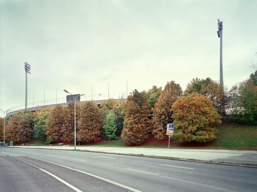 Witness Of Glory Times: München Grünwalder - Markus Wendler - Stadion Foto als Wandbild