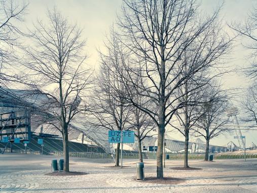 Witness of Glory Times: München Olympiastadion (1) - Markus Wendler - Stadion Foto als Wandbild