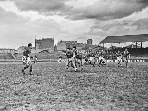 Rugby in Paris - Sport Fotografie als Wandbild - Motorsport Foto - NoSports Magazin- 11FREUNDE SHOP