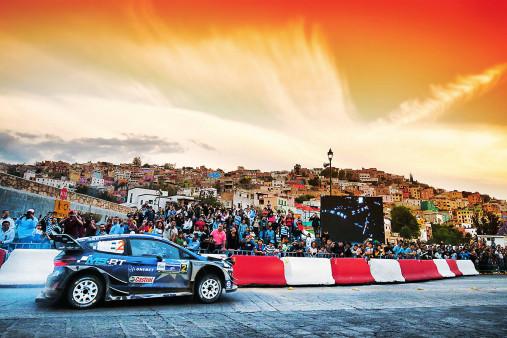 Rallye Mexico (1) - Sport Fotografie als Wandbild - Motorsport Foto - NoSports Magazin - 11FREUNDE SHOP