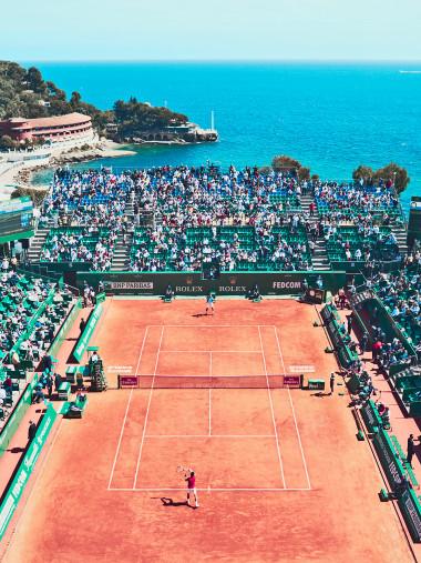 Tennis mit Aussicht