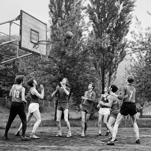 Basketball beim DDR Sportfest 1971