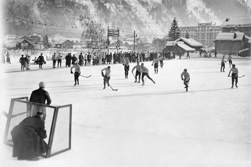 Eishockey in Chamonix (3)